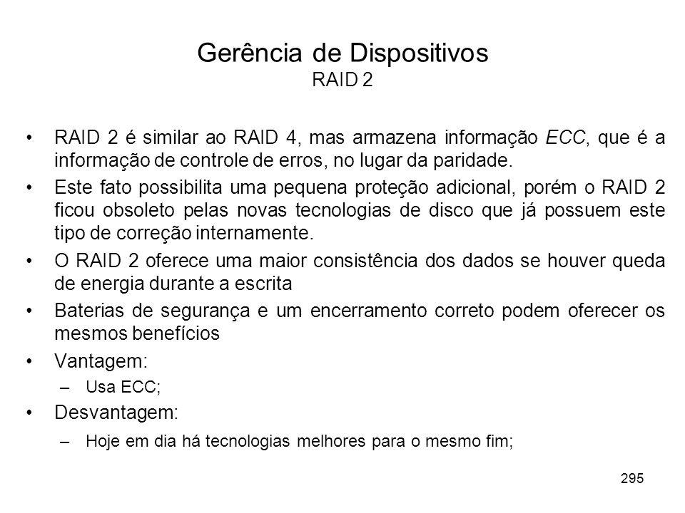Gerência de Dispositivos RAID 2