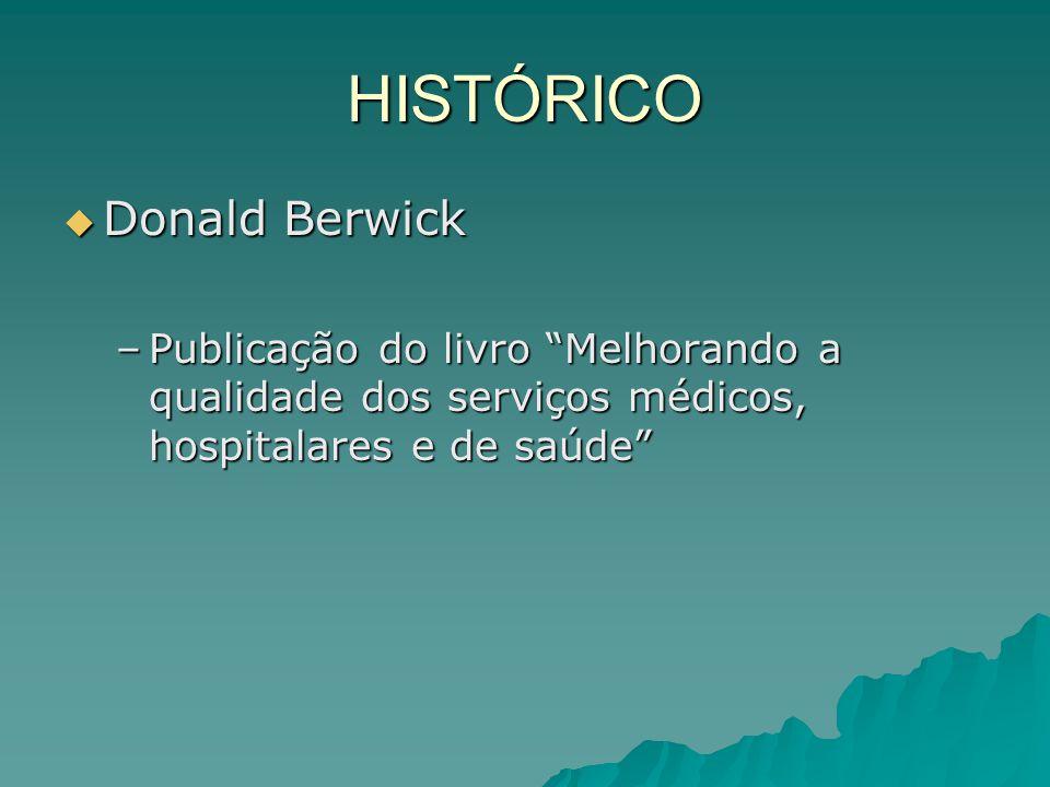 HISTÓRICO Donald Berwick