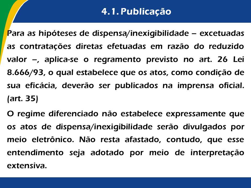4.1. Publicação