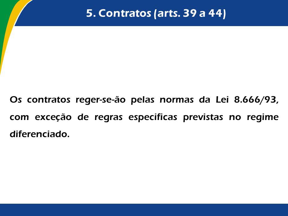 5. Contratos (arts. 39 a 44)