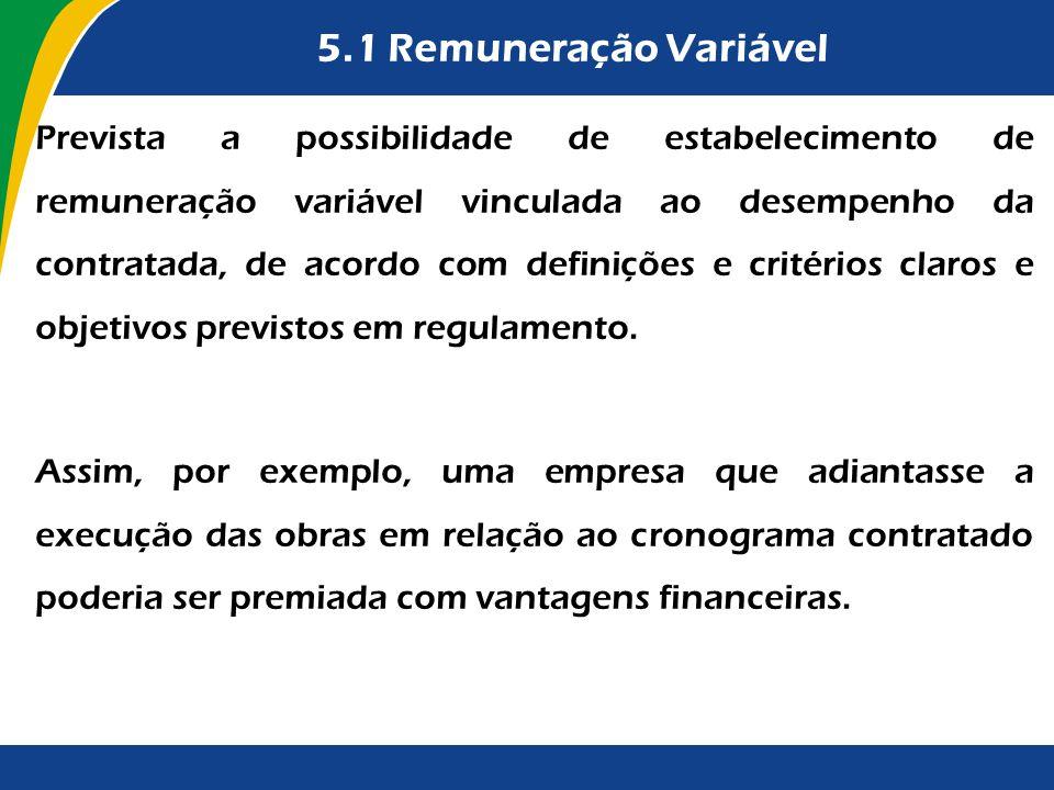 5.1 Remuneração Variável