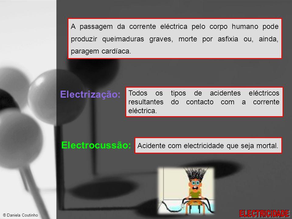 Electrização: Electrocussão: