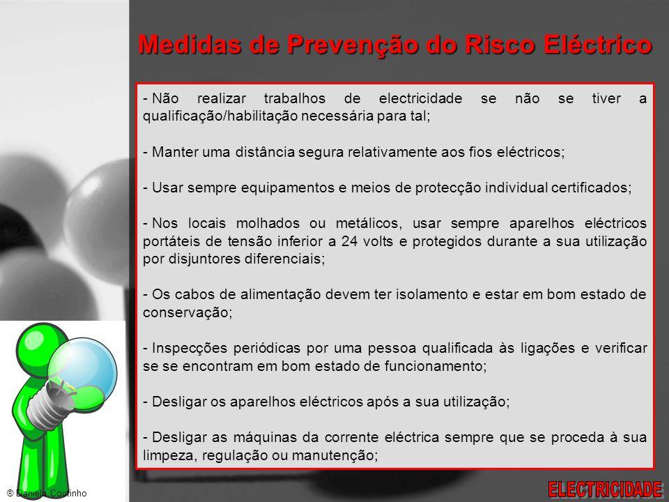 Medidas de Prevenção do Risco Eléctrico