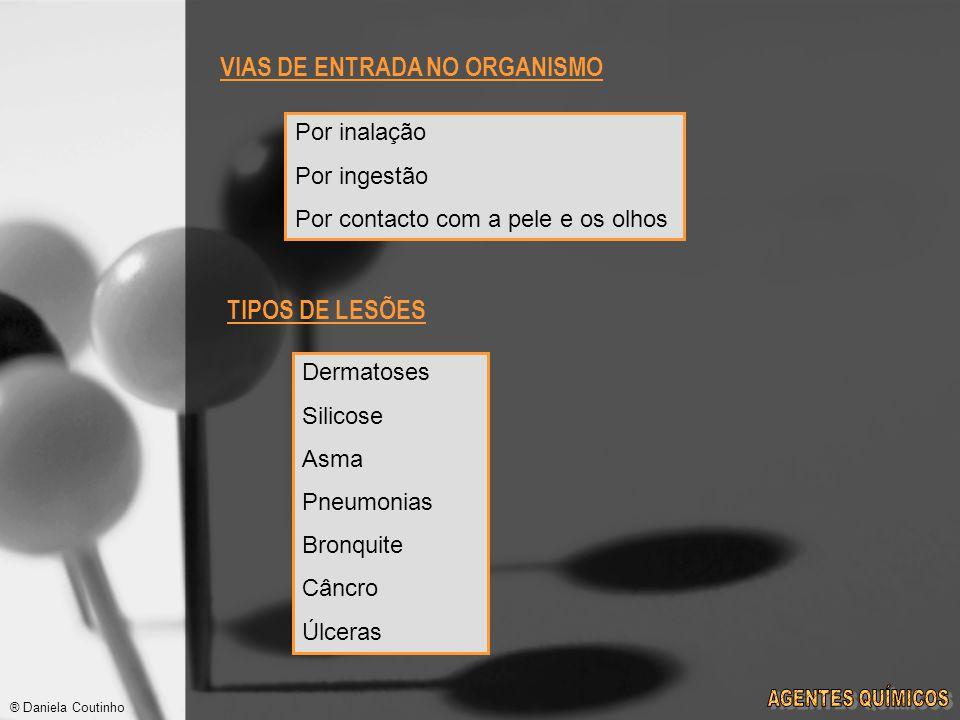 VIAS DE ENTRADA NO ORGANISMO
