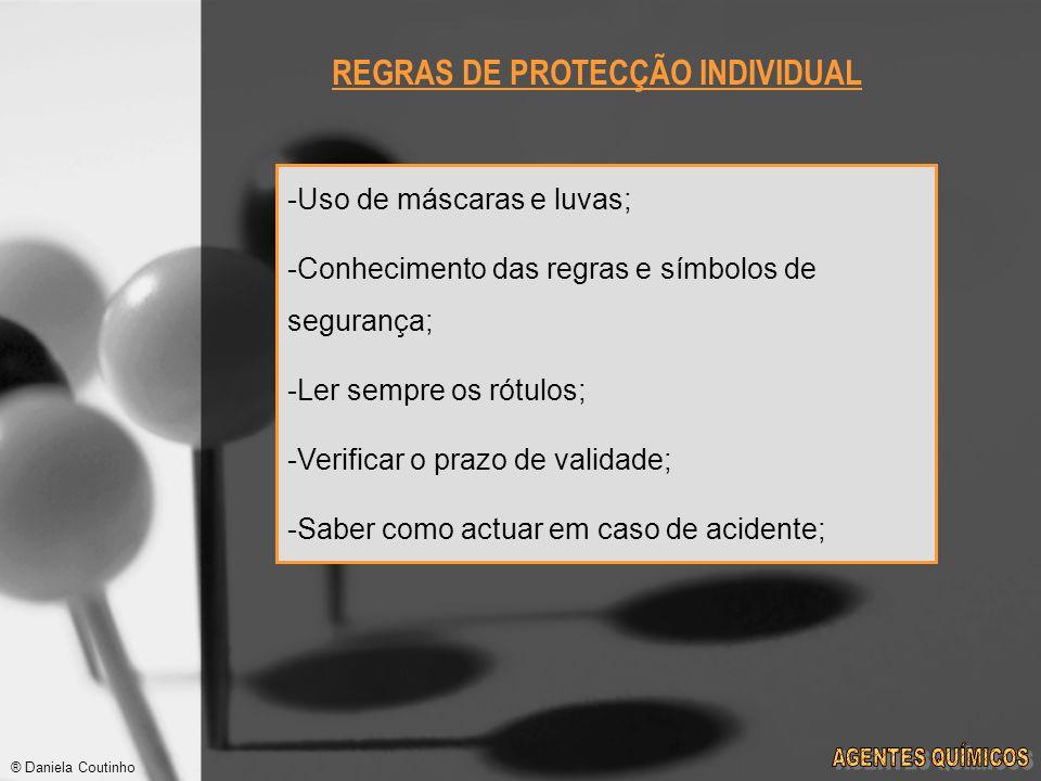 REGRAS DE PROTECÇÃO INDIVIDUAL