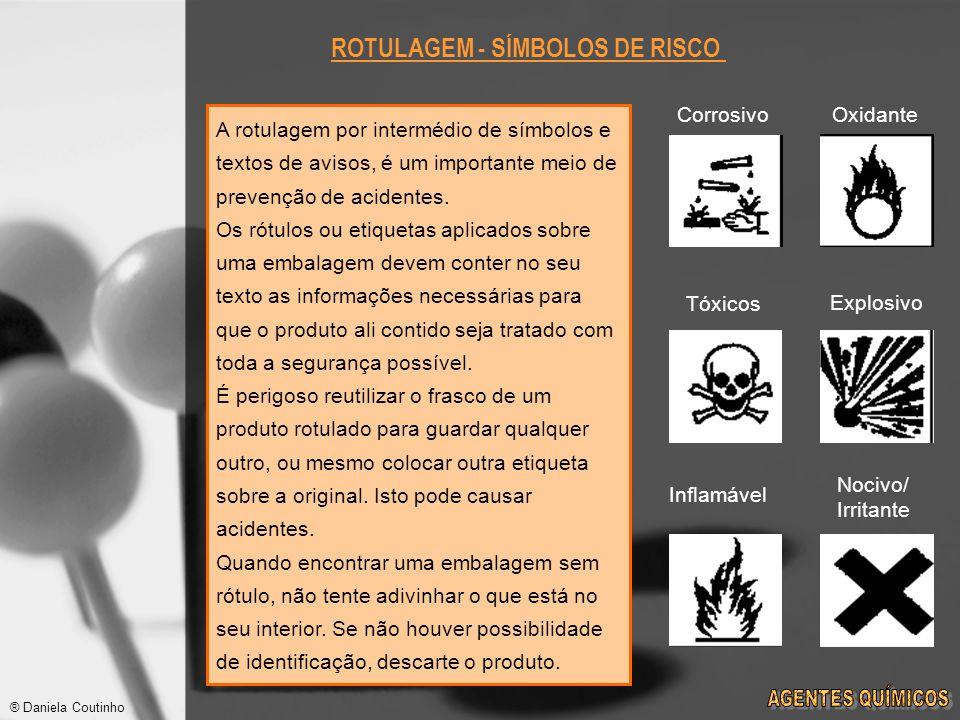 ROTULAGEM - SÍMBOLOS DE RISCO