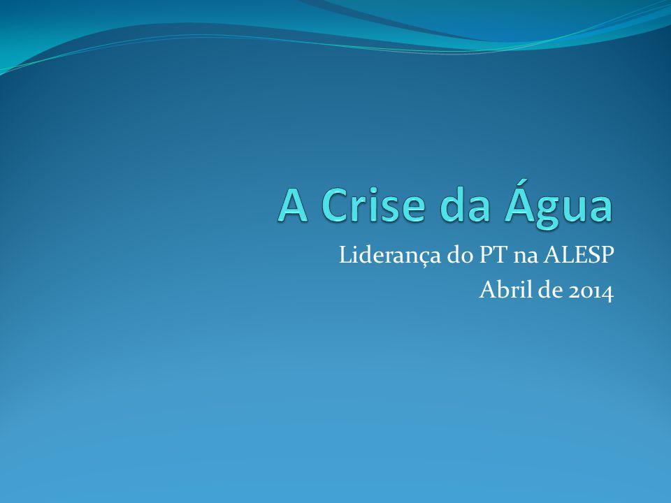 Liderança do PT na ALESP Abril de 2014