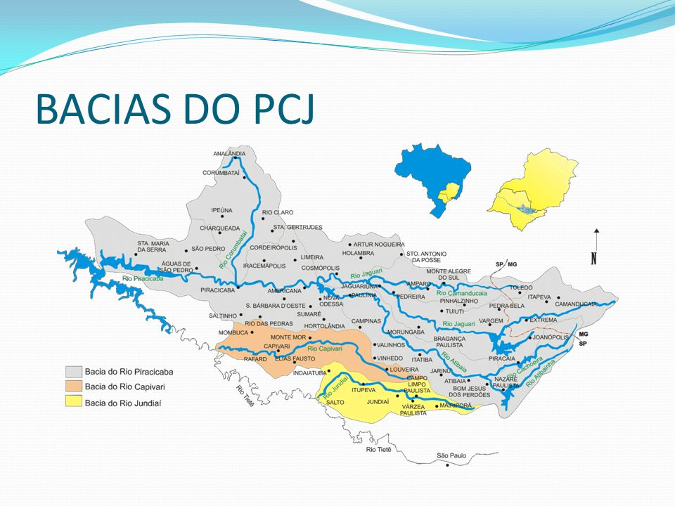BACIAS DO PCJ