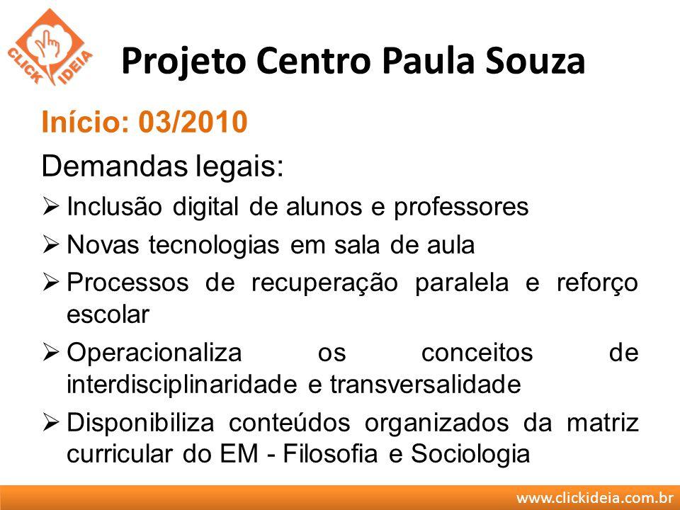 Projeto Centro Paula Souza