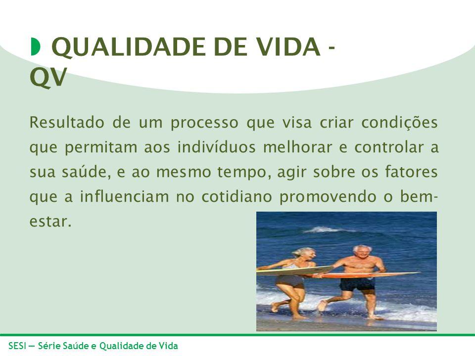 QUALIDADE DE VIDA - QV