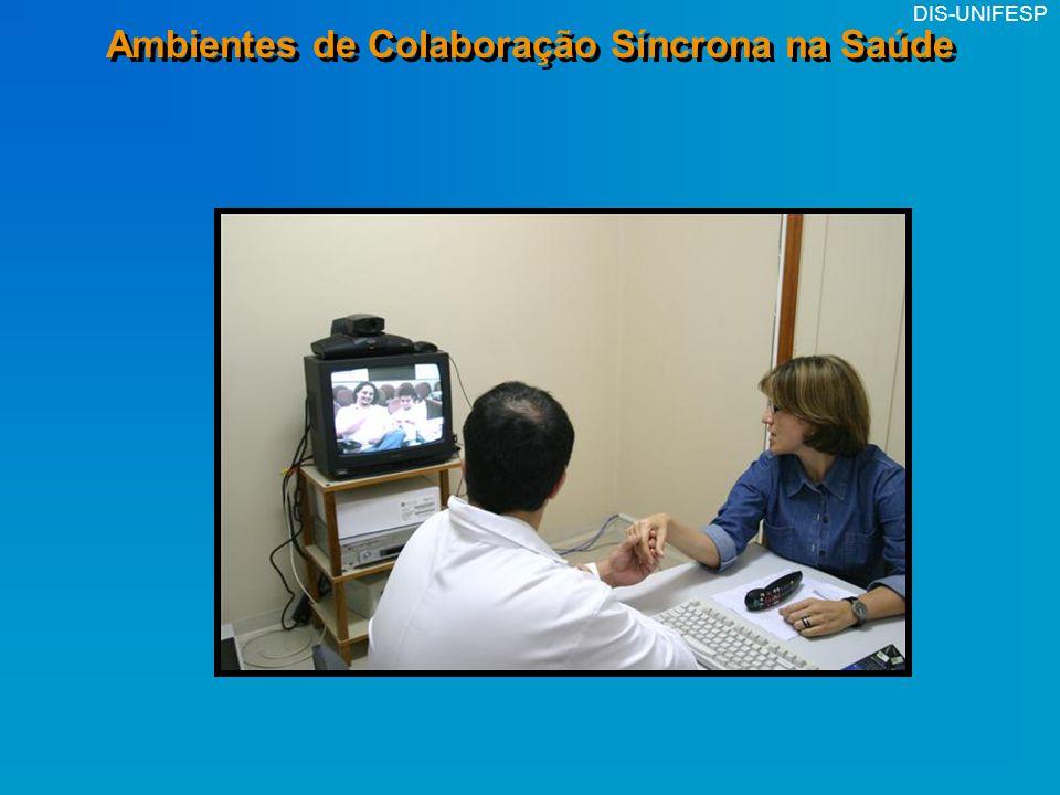 Ambientes de Colaboração Síncrona na Saúde