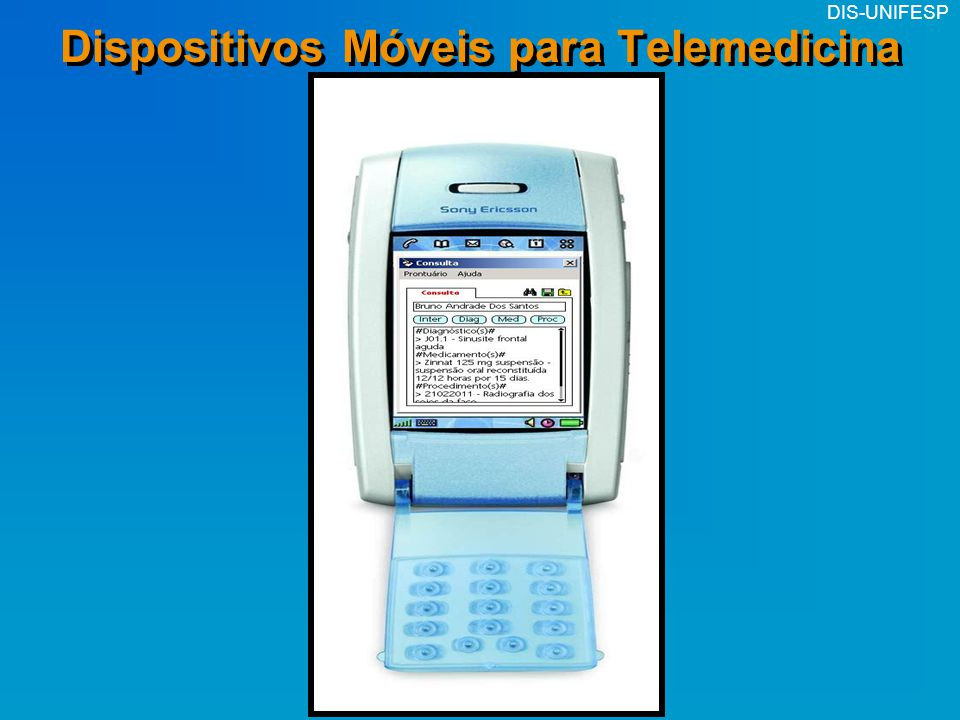 Dispositivos Móveis para Telemedicina