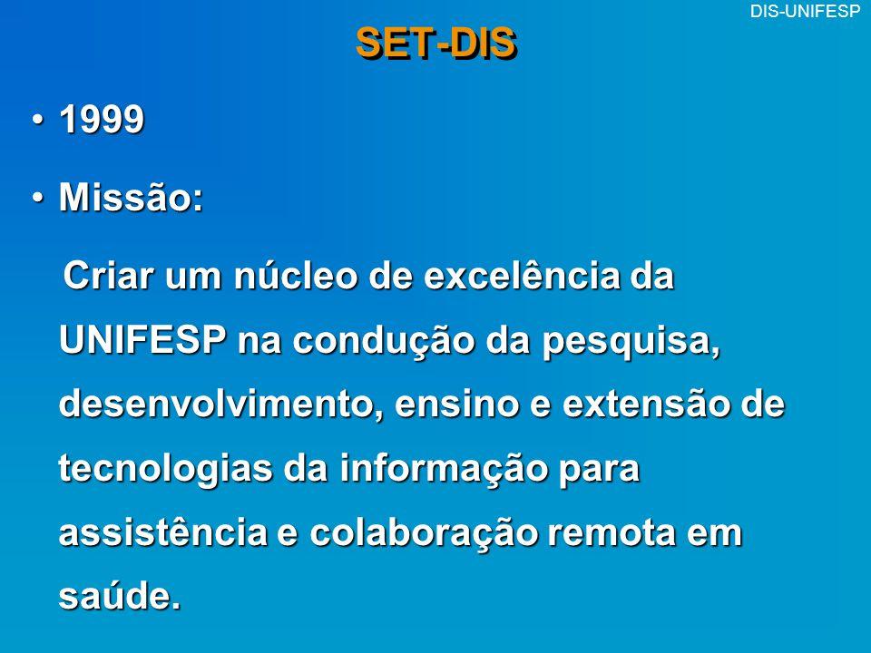 SET-DIS 1999. Missão:
