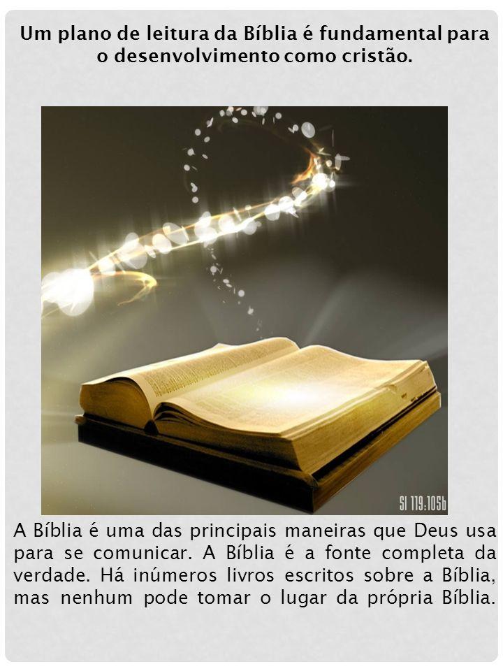 Um plano de leitura da Bíblia é fundamental para o desenvolvimento como cristão.