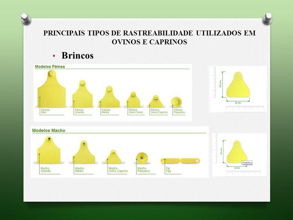 Principais tipos de rastreabilidade utilizados em Ovinos e Caprinos
