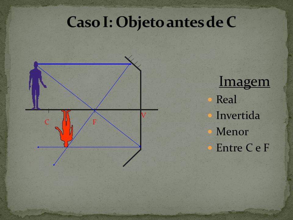 Caso I: Objeto antes de C