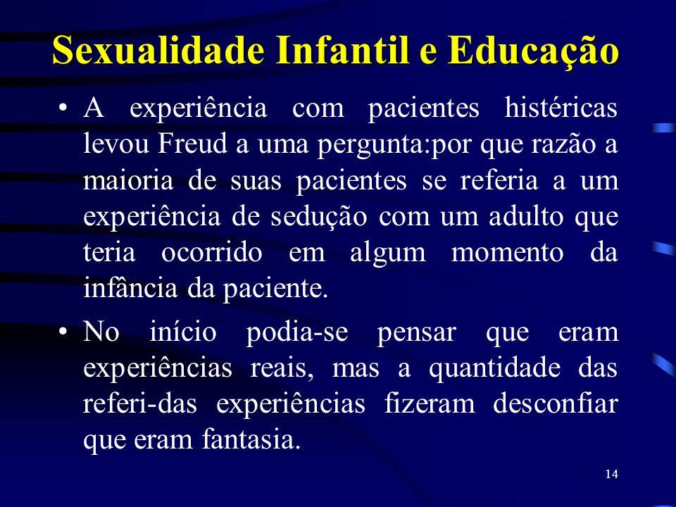 Sexualidade Infantil e Educação