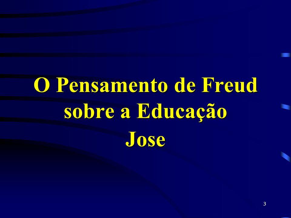 O Pensamento de Freud sobre a Educação