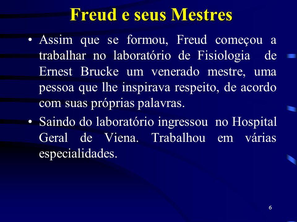 Freud e seus Mestres