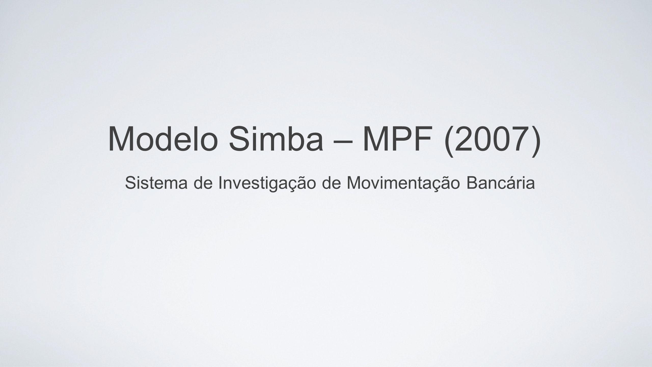 Sistema de Investigação de Movimentação Bancária