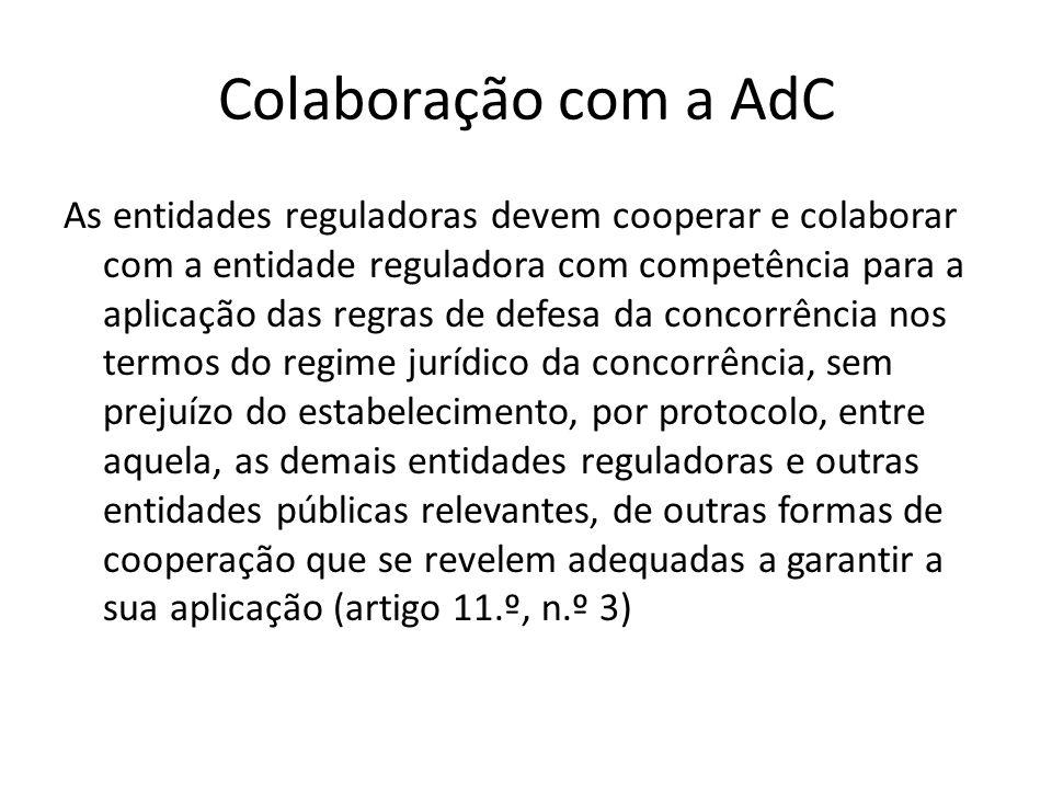 Colaboração com a AdC