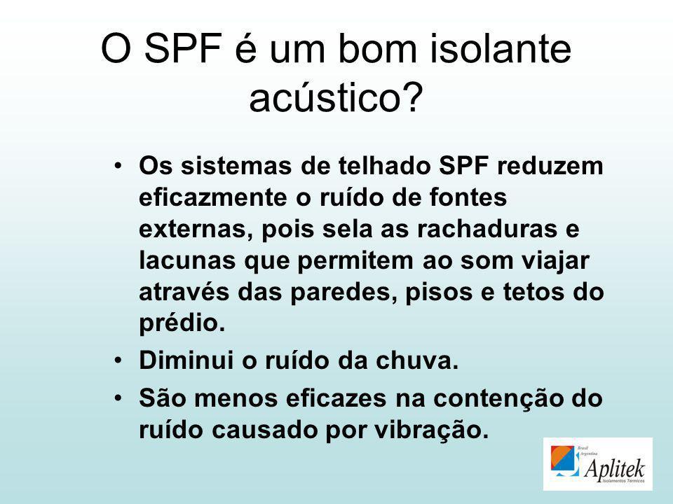 O SPF é um bom isolante acústico
