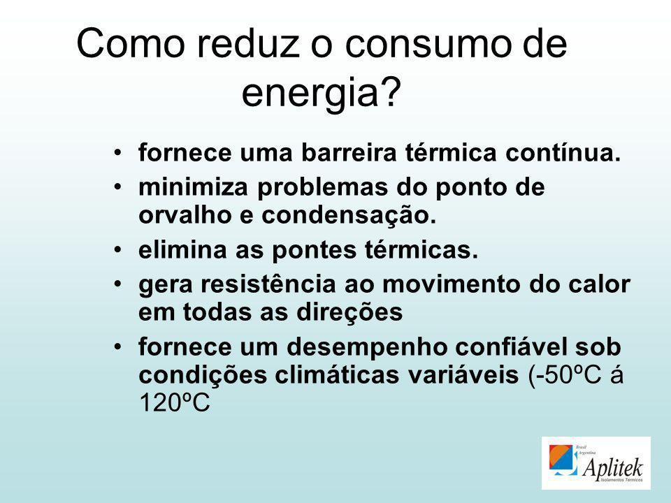 Como reduz o consumo de energia