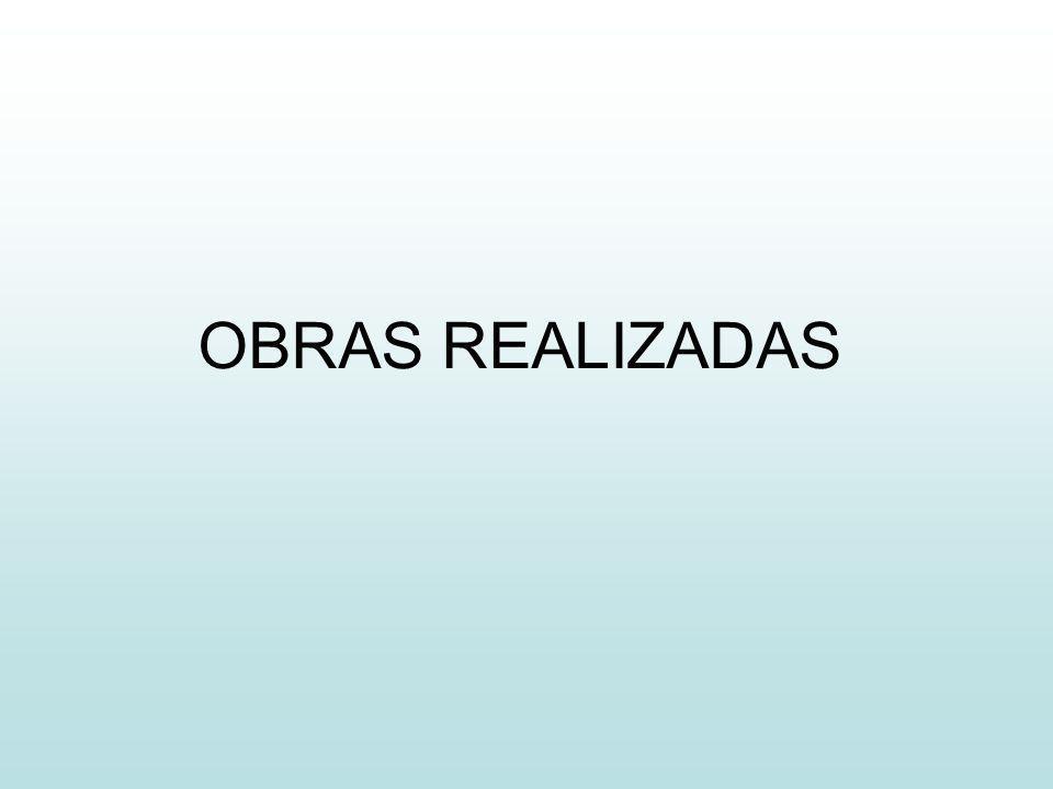 OBRAS REALIZADAS