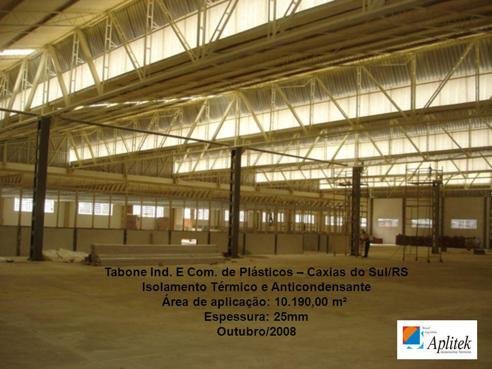 Tabone Ind. E Com. de Plásticos – Caxias do Sul/RS