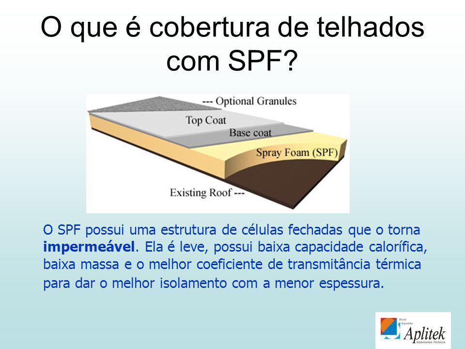 O que é cobertura de telhados com SPF