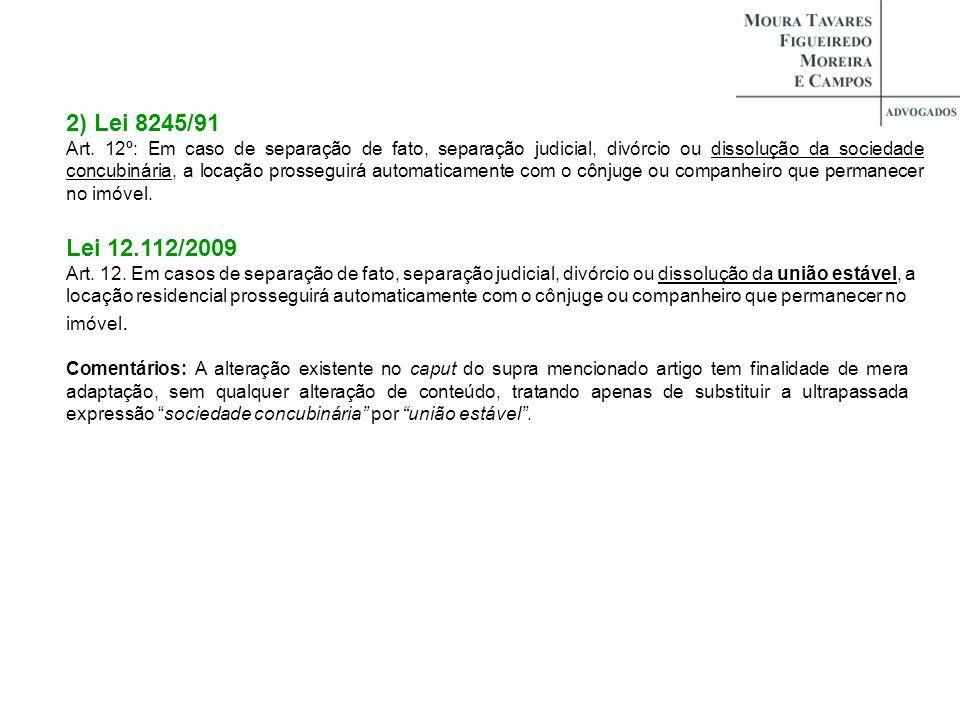 2) Lei 8245/91