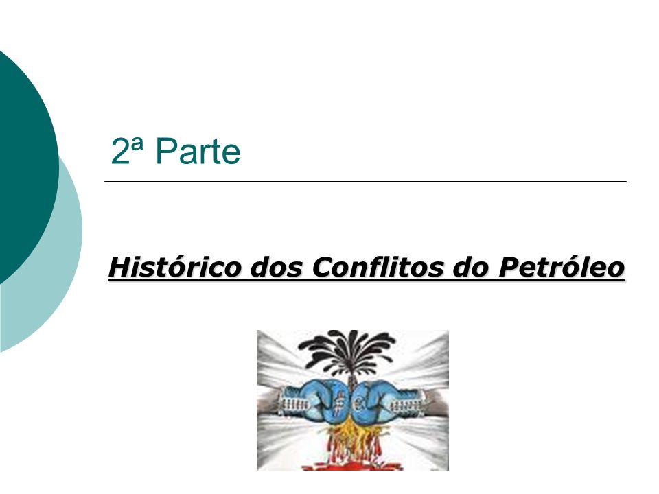 Histórico dos Conflitos do Petróleo