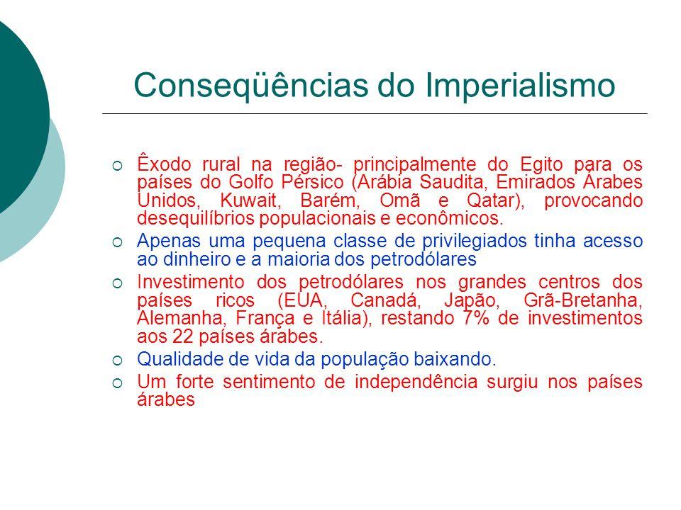 Conseqüências do Imperialismo