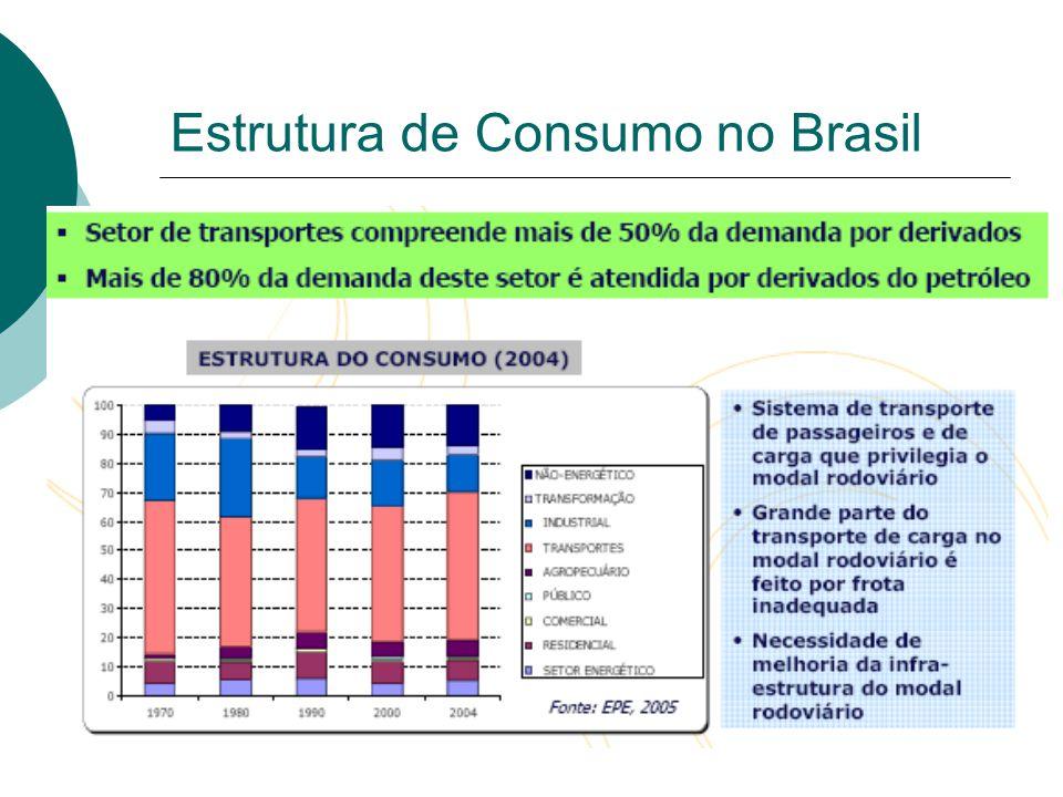 Estrutura de Consumo no Brasil
