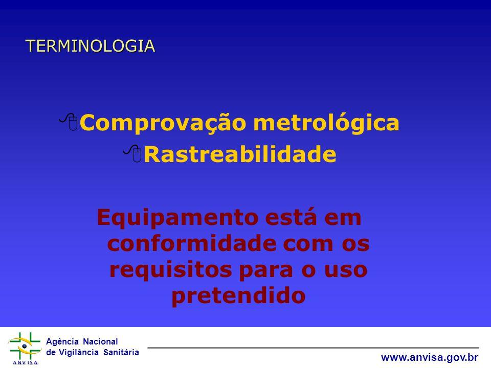 Comprovação metrológica