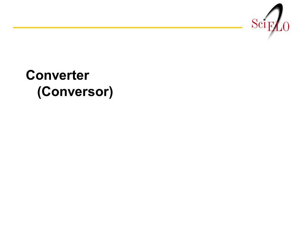 Converter (Conversor)