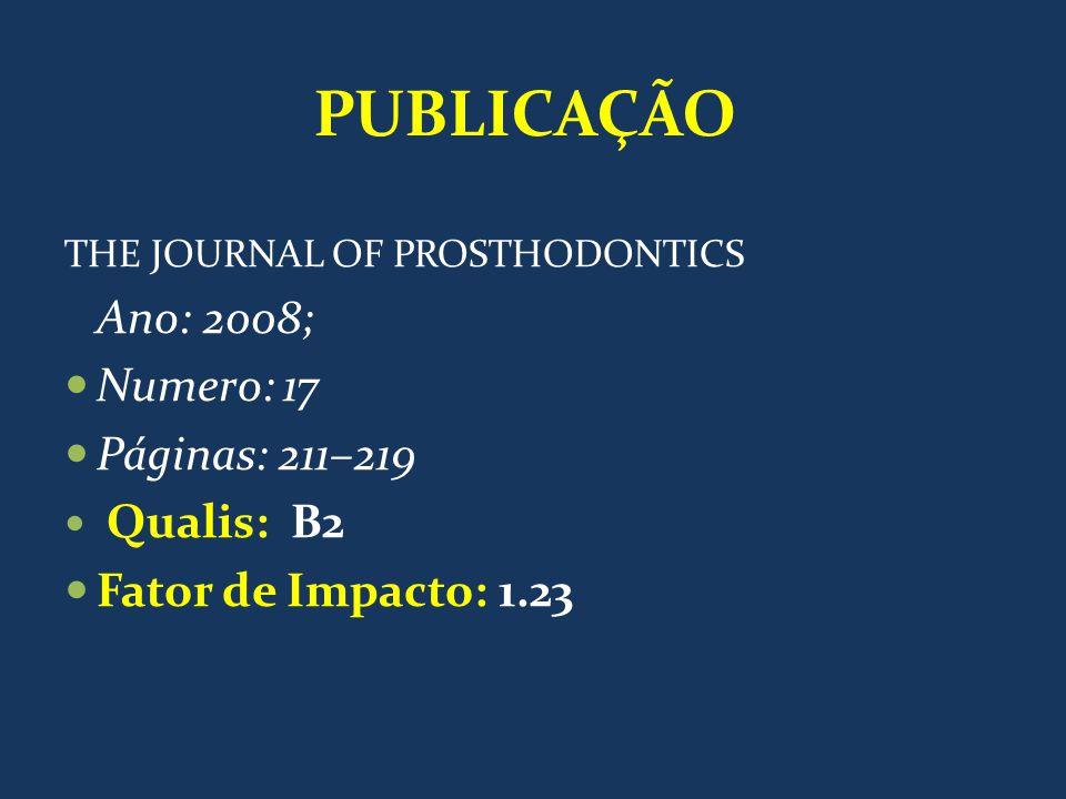 PUBLICAÇÃO Ano: 2008; Numero: 17 Páginas: 211–219