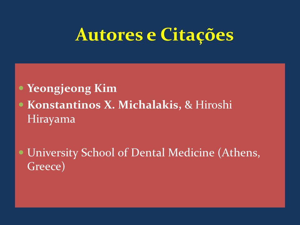 Autores e Citações Yeongjeong Kim