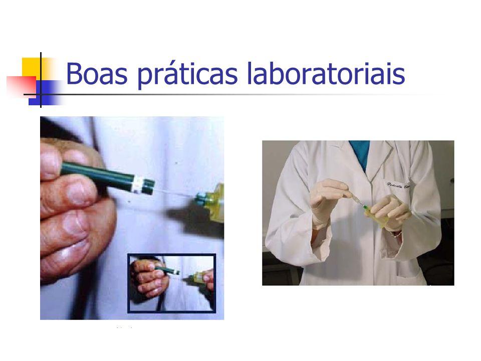 Boas práticas laboratoriais