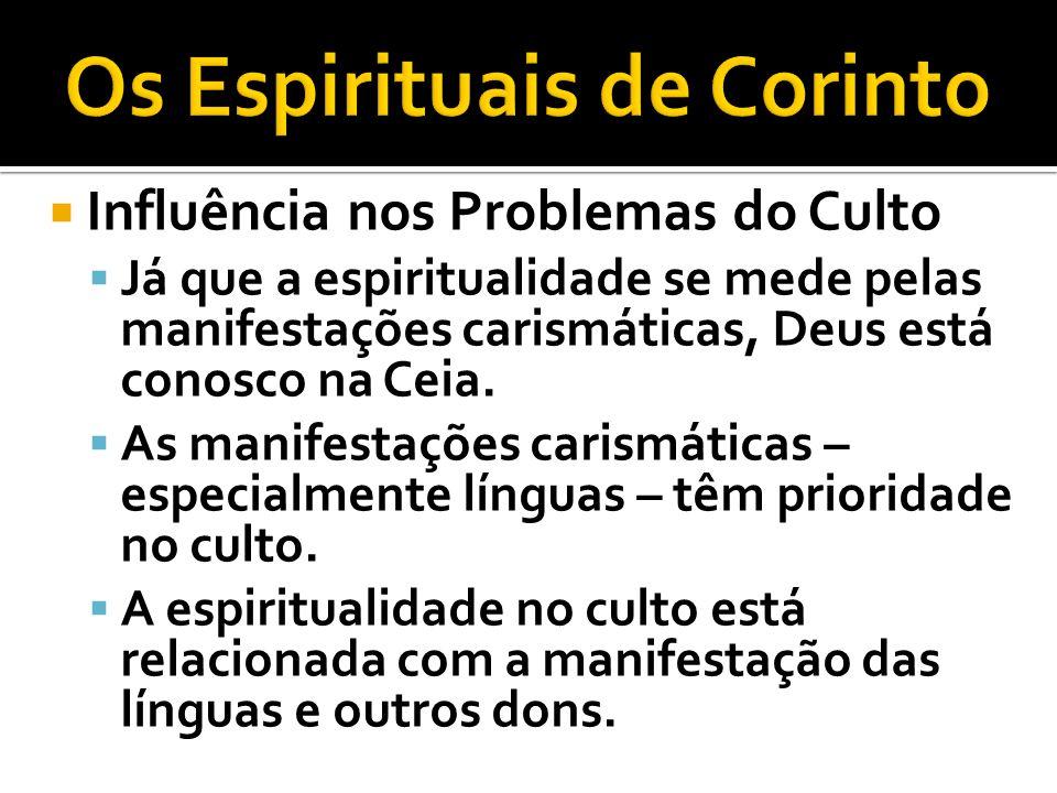 Os Espirituais de Corinto