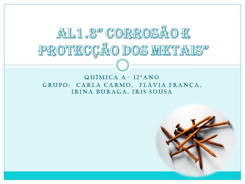 AL1.3 Corrosão e protecção dos metais