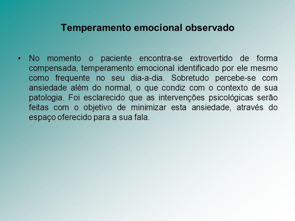 Temperamento emocional observado