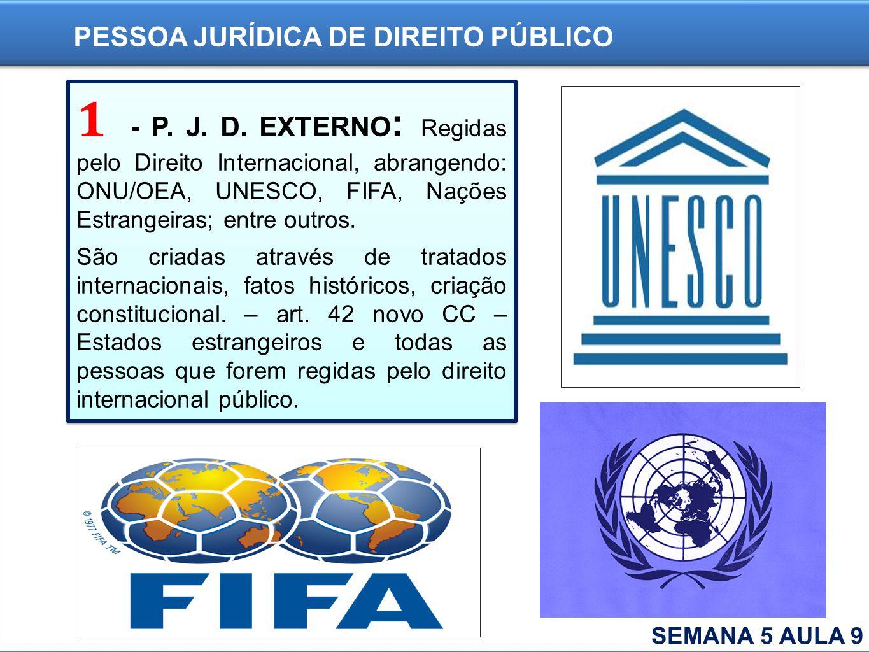PESSOA JURÍDICA DE DIREITO PÚBLICO