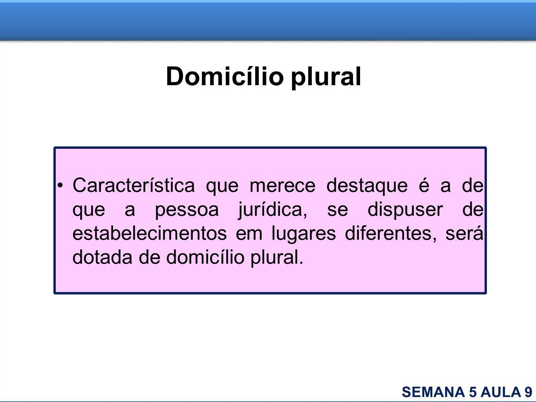 Domicílio plural