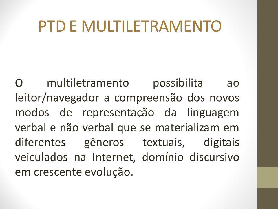 PTD E MULTILETRAMENTO