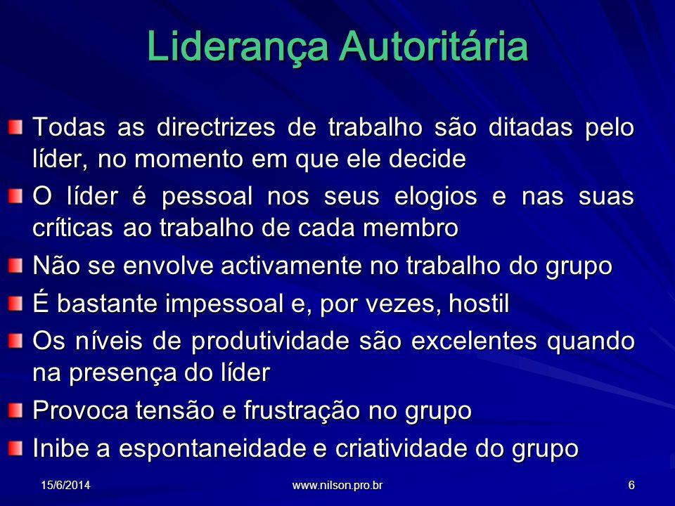 Liderança Autoritária