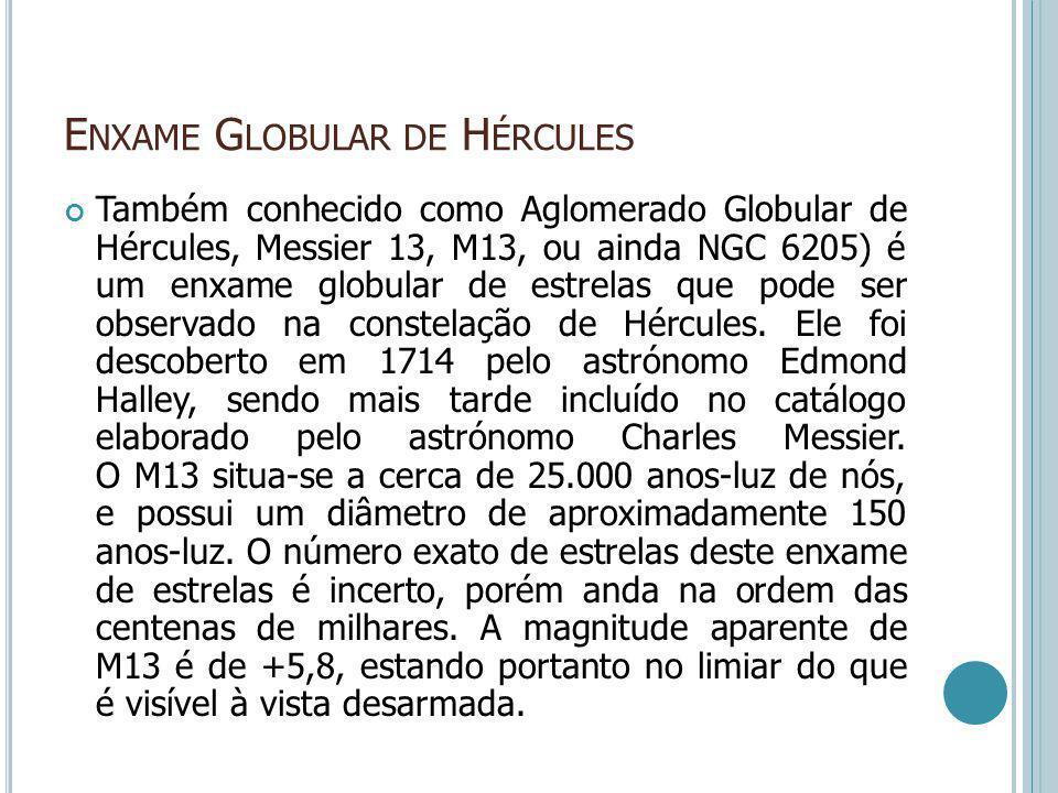Enxame Globular de Hércules