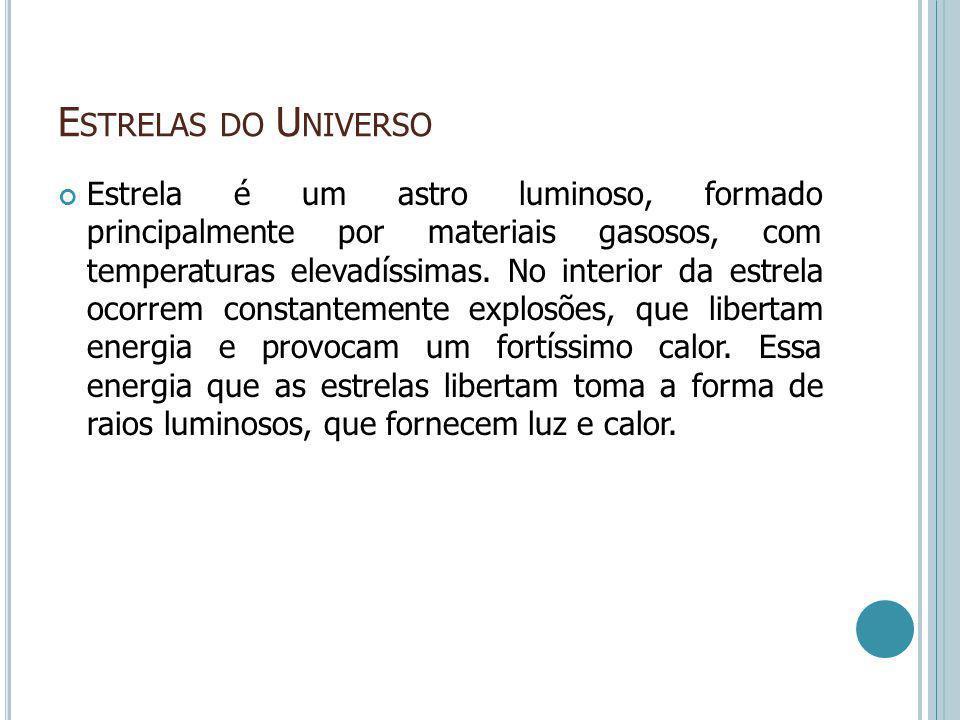 Estrelas do Universo