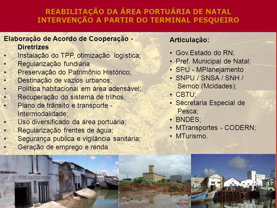 REABILITAÇÃO DA ÁREA PORTUÁRIA DE NATAL