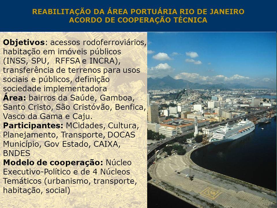 REABILITAÇÃO DA ÁREA PORTUÁRIA RIO DE JANEIRO